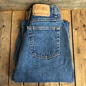 Amazing Vintage High Waisted Gitano Denim Jeans
